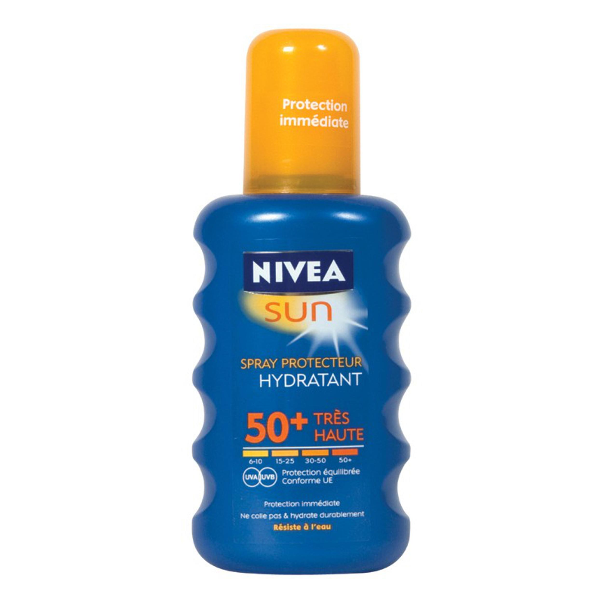 Nivea Sun Zonnebrand Spray Factor(spf)50 200ml