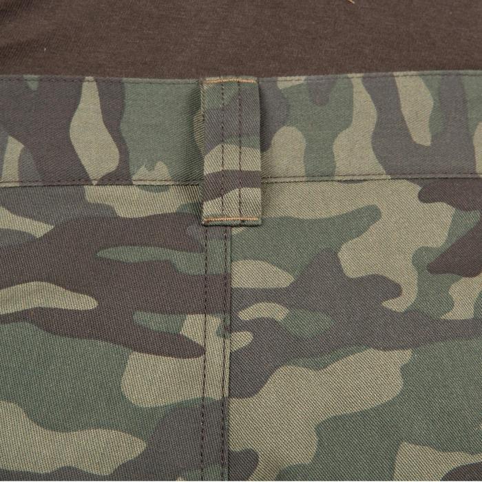 Pantalón Caza Solognac Bgp 100 Calido Camuflaje