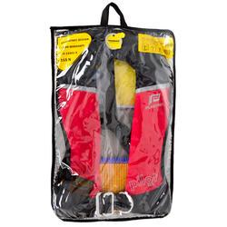 Zelfopblazend reddingsvest volwassenen Pilot 165N Hammar met rood/zwart harnas - 411205