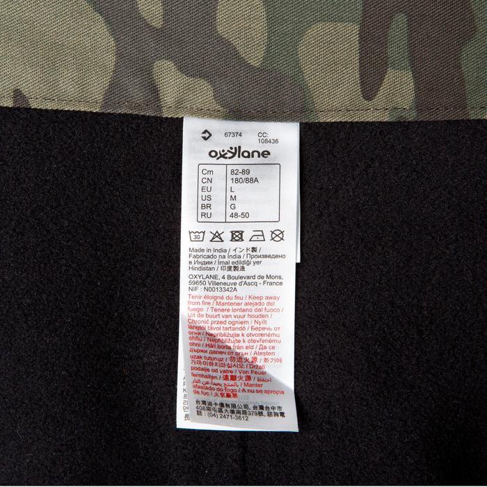 Pantalón Caza Solognac Bgp 100 Calido Camuflaje Verde