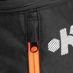 Schoenentas 10 liter zwart/grijs/oranje - 411326