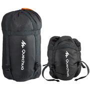Črna vrečka za shranjevanje spalne vreče