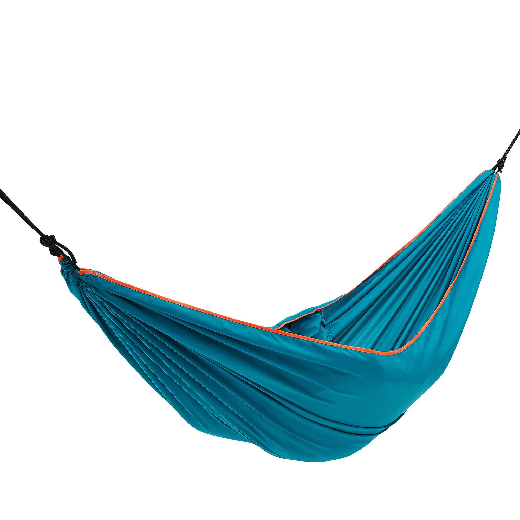 hamac 1 personne bleu quechua. Black Bedroom Furniture Sets. Home Design Ideas