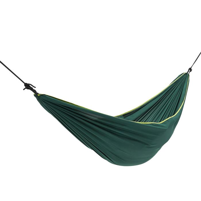 Hamaca Camping Quechua 1 Persona Verde Oscuro