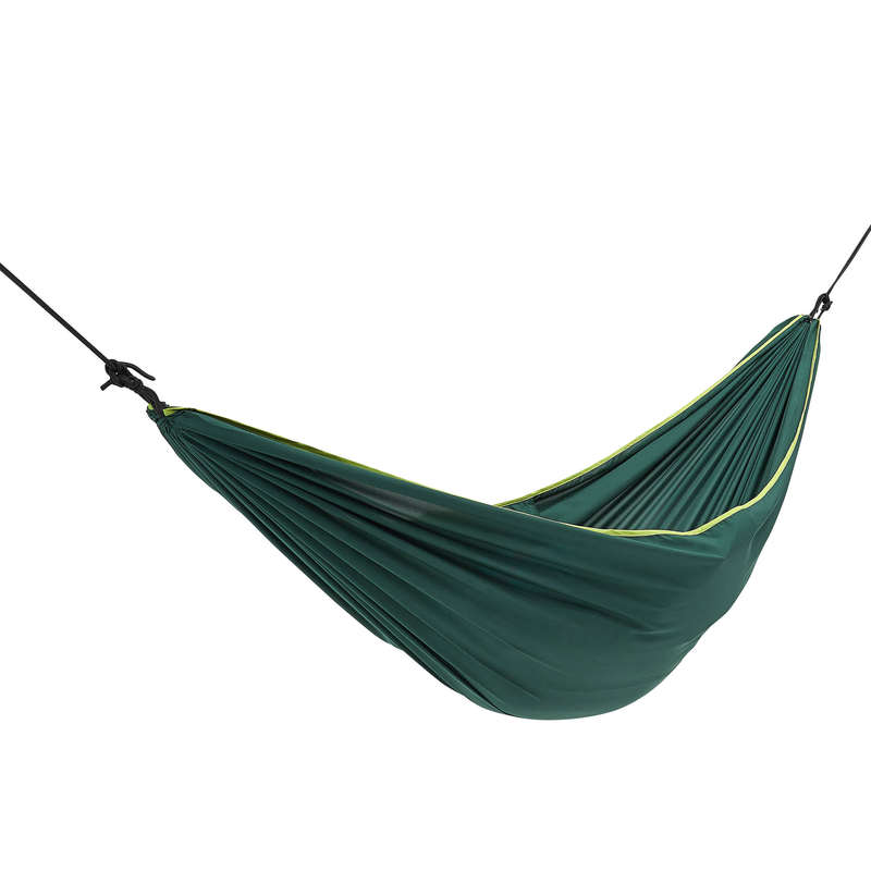BASE CAMP SLEEPING BAGS Hiking - Basic hammock - 1 man - green QUECHUA - Hiking