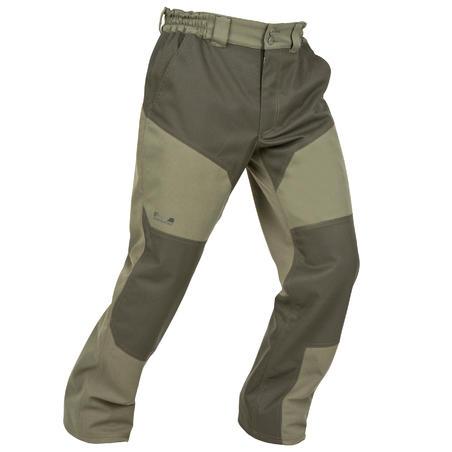 Штани Supertrack 300 для полювання, водонепроникні - Зелені
