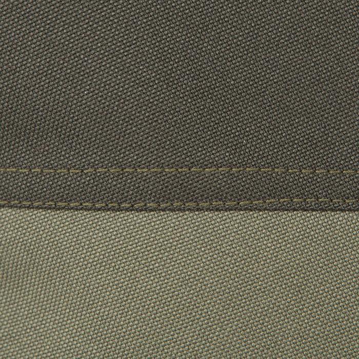 Pantalon Caza Solognac Supertrack 300 Reforzado Impermeable Verde
