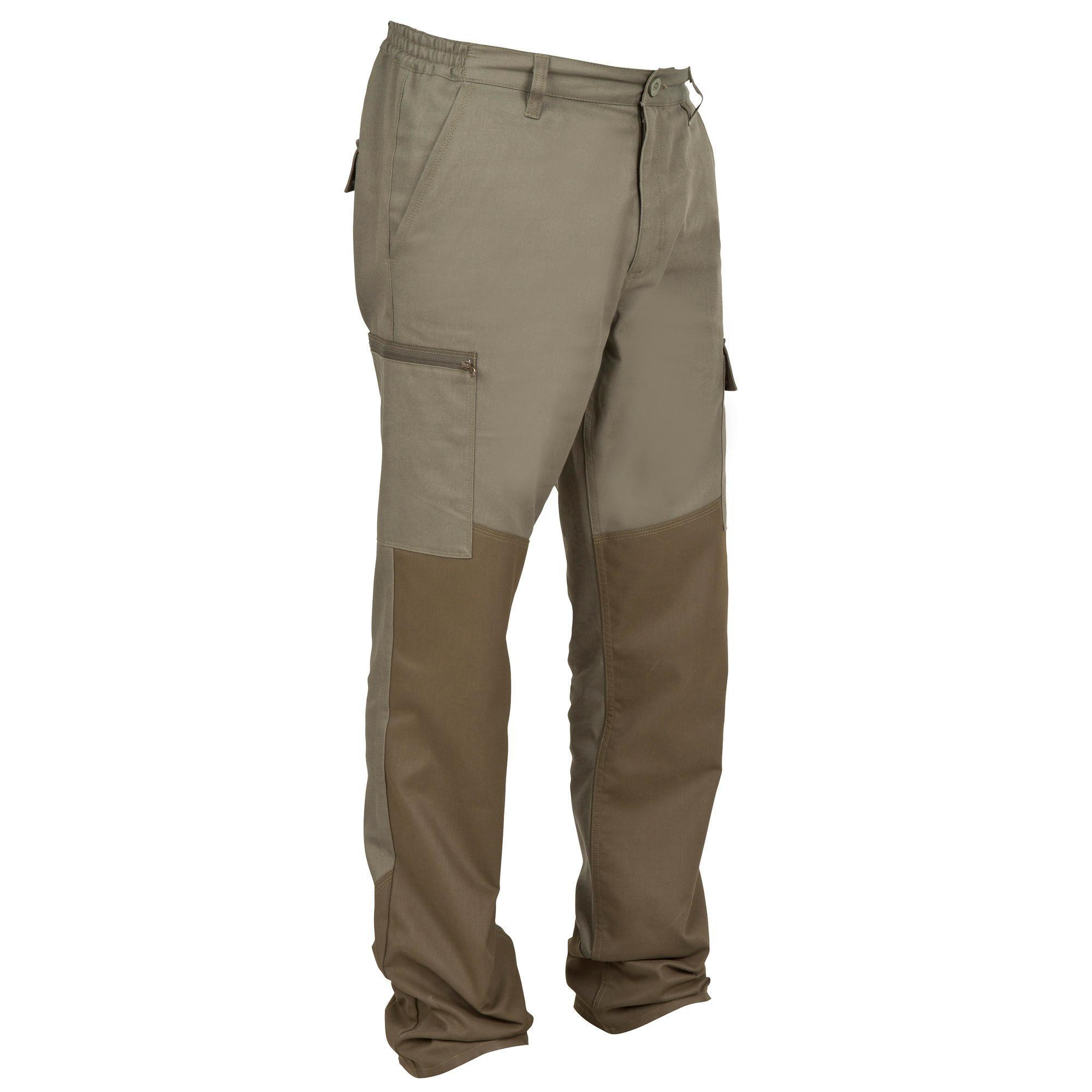 Jagdhose 100 verstärkt | Sportbekleidung > Sporthosen > Trekkinghosen | Solognac