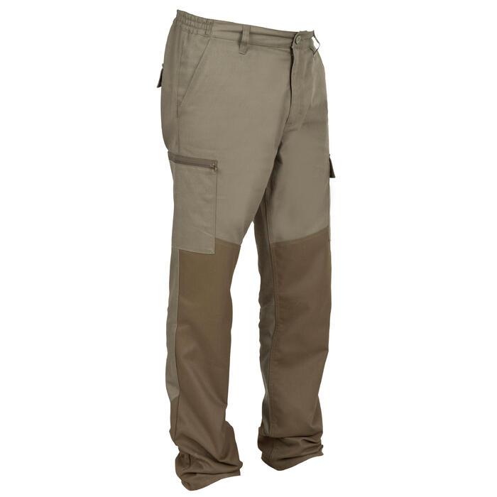 Pantalon chasse Steppe 300 renfort vert - 41178