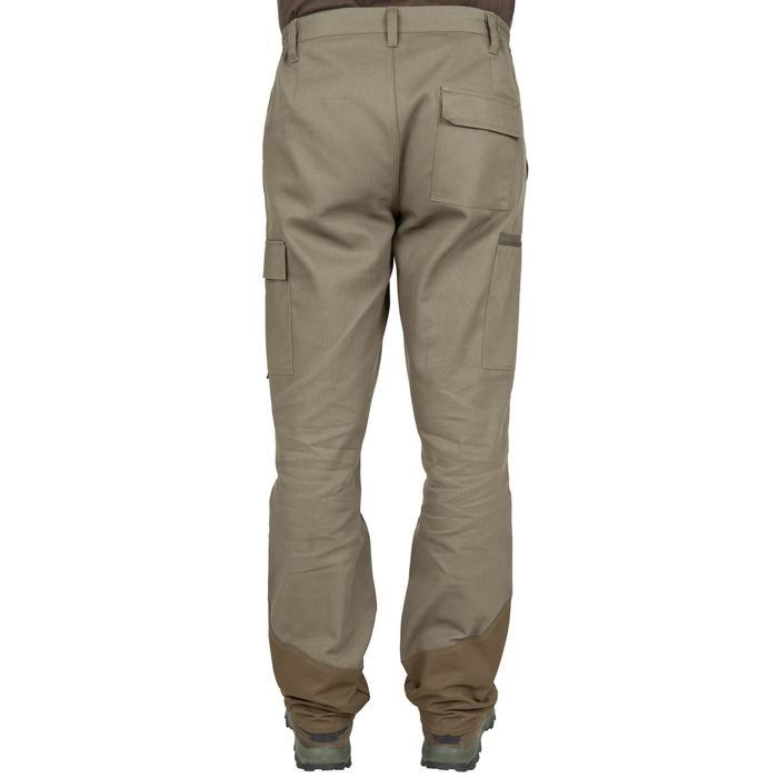 Pantalon chasse Steppe 300 renfort vert - 41182