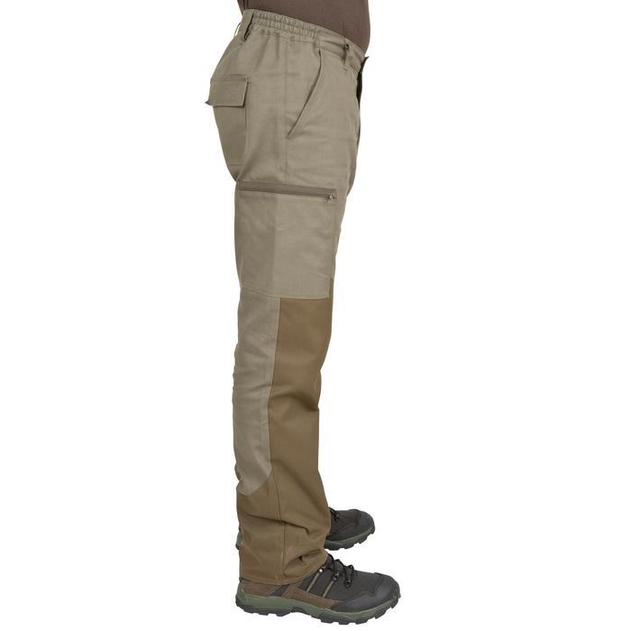 Pantalon chasse Steppe 300 renfort vert - 41187