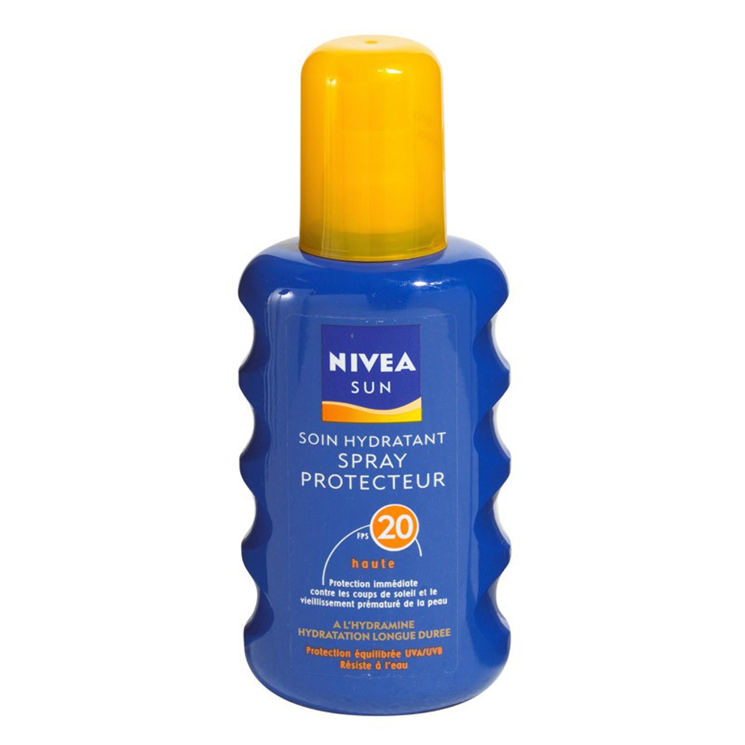 Nivea Sun Zonnebrand Spray Factor(spf)20 200ml