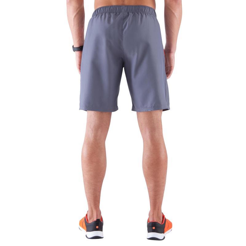 große Auswahl lässige Schuhe echte Schuhe Herrenbekleidung - Sporthose kurz Light Breathe Fitness Herren, grau