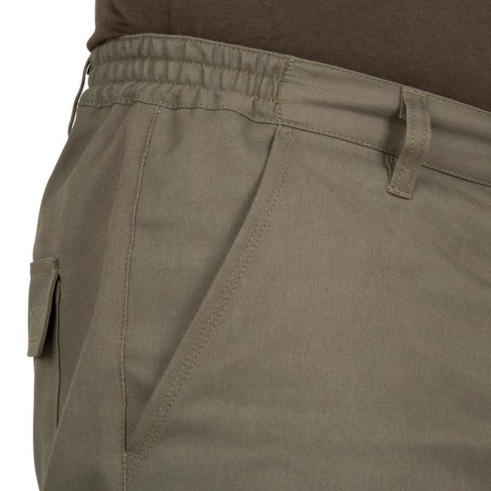 Pantalon chasse Steppe 300 renfort vert - 41203