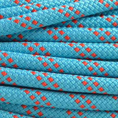 Abseiling Rock Climbing and Mountaineering Half Rope 7.5mm x 60 m Blue