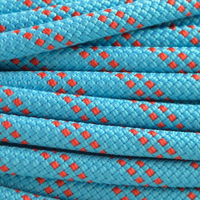 CORDE à double d'escalade et d'alpinisme RAPPEL 7.5mm x 60m Bleu