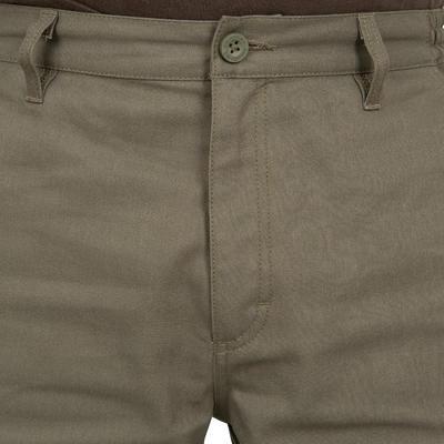 Мисливські штани на підкладці Steppe 300 - Зелені