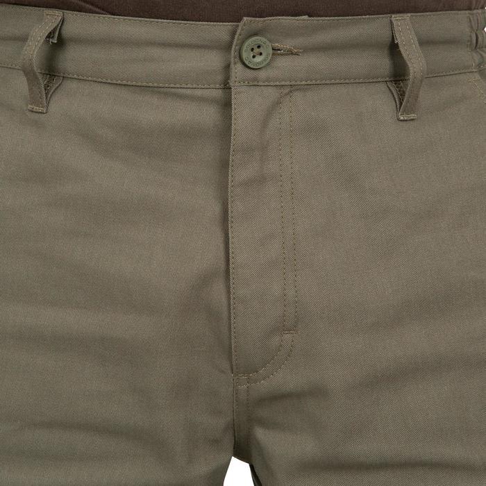 Pantalon chasse Steppe 300 renfort vert - 41213