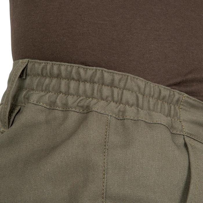 Pantalon chasse Steppe 300 renfort vert - 41214