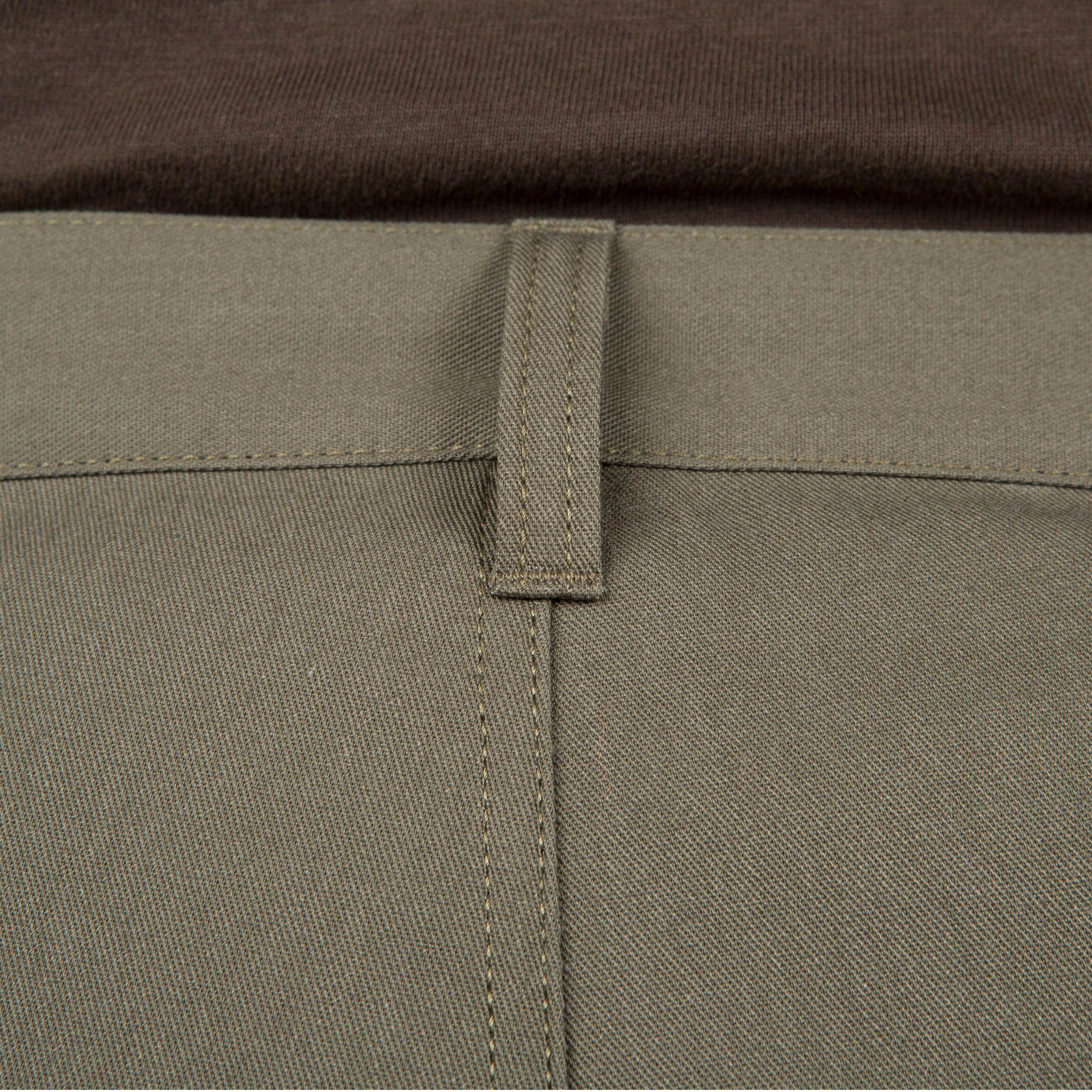 Pantalon chasse Steppe 300 renfort vert