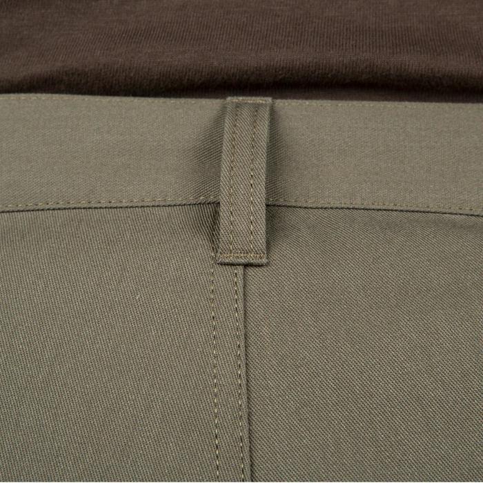 Pantalon chasse Steppe 300 renfort vert - 41215