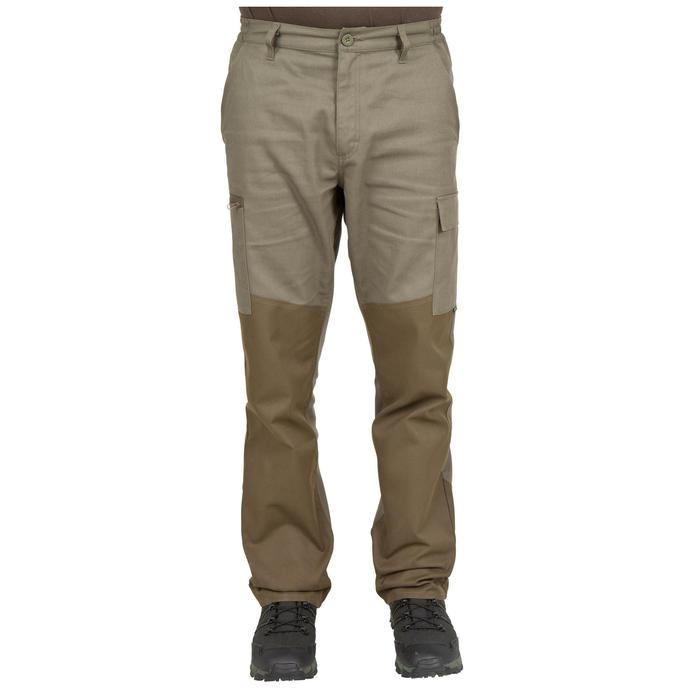 Pantalon chasse Steppe 300 renfort vert - 41216
