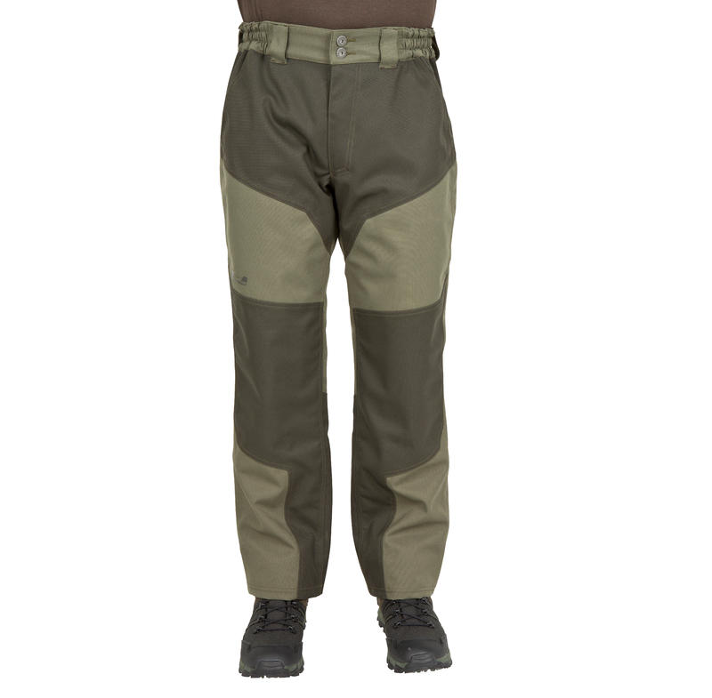 HUNTING TROUSERS SUPERTRACK 300 WATERPROOF - GREEN