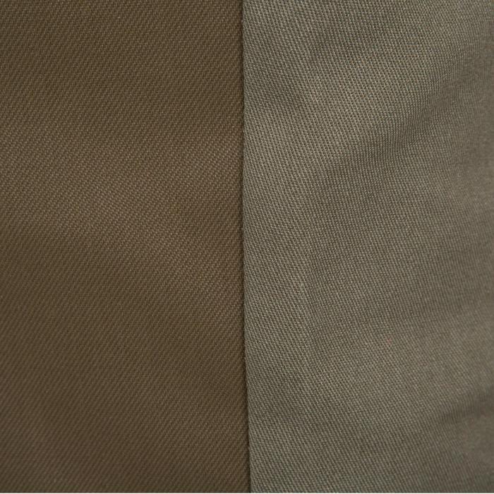 Pantalon chasse Steppe 300 renfort vert - 41229
