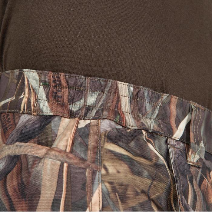 Jagdhose 100 wasserdichte Regenhose camouflage Schilf