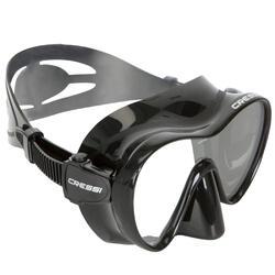 Máscara de Mergulho F1 Preto Frameless