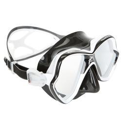 Máscara de Buceo Mares X-Vision Liquid Skin Negro Blanco