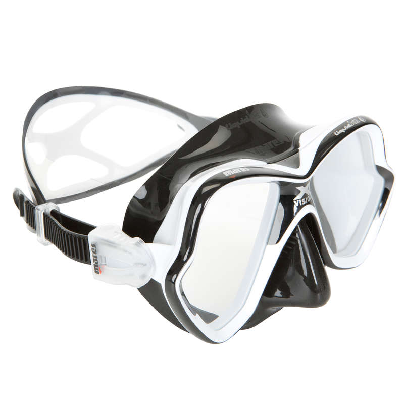 MASKI I RURKI SCD Nurkowanie - Maska X-Vision Liquid Skin MARES - Woda