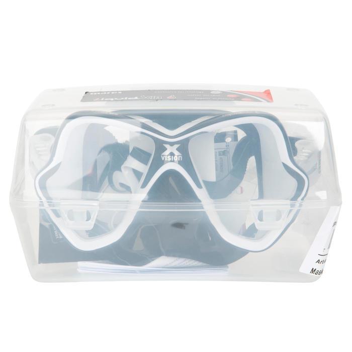 Masque de plongée sous-marine X-Vision Liquid Skin noir - 412924
