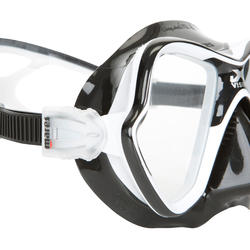 Duikmasker X-Vision Liquid Skin zwart - 412929