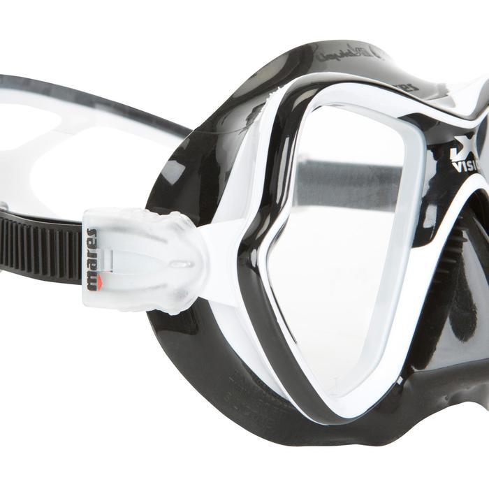 Masque de plongée sous-marine X-Vision Liquid Skin noir - 412929