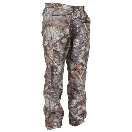 P100 Waterproof Hunting Trousers - Brown Camo