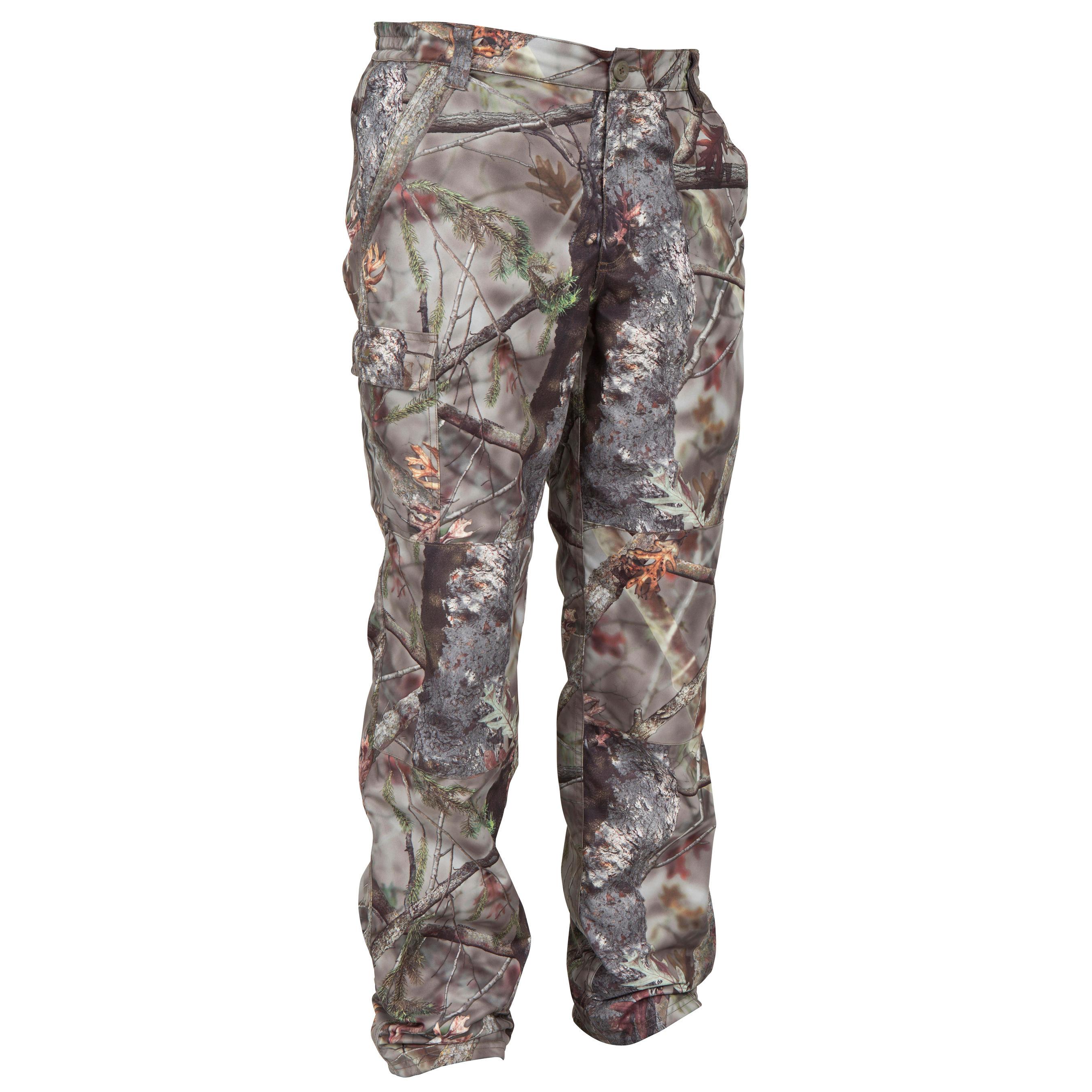 Herren Jagd-Regenhose Posikam 100 Camouflage braun | 03583788473602