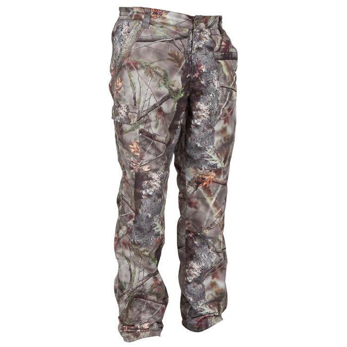 Pantalon chasse Posikam 100 camouflage marron - 41293