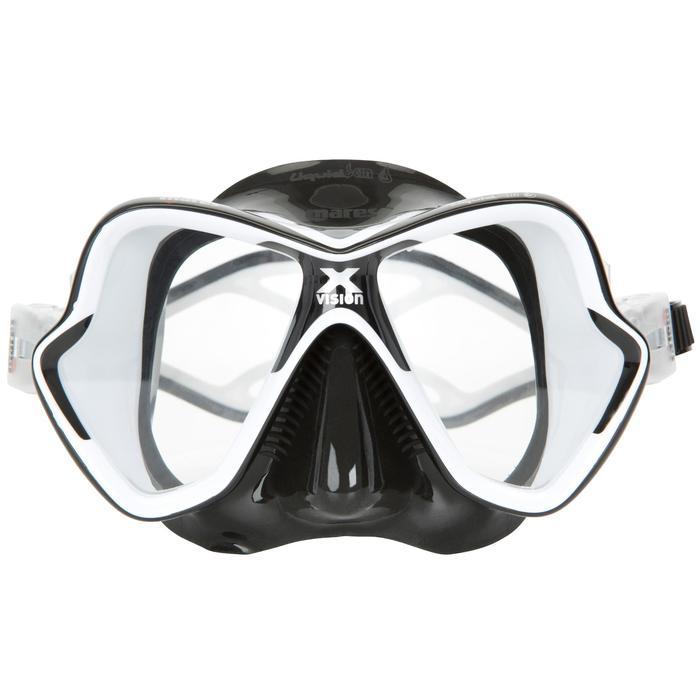 Masque de plongée sous-marine X-Vision Liquid Skin noir - 412931
