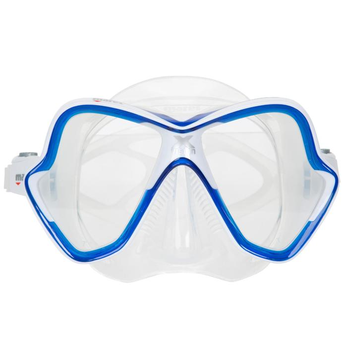 Masque de plongée sous-marine X-Vision bleu - 412939