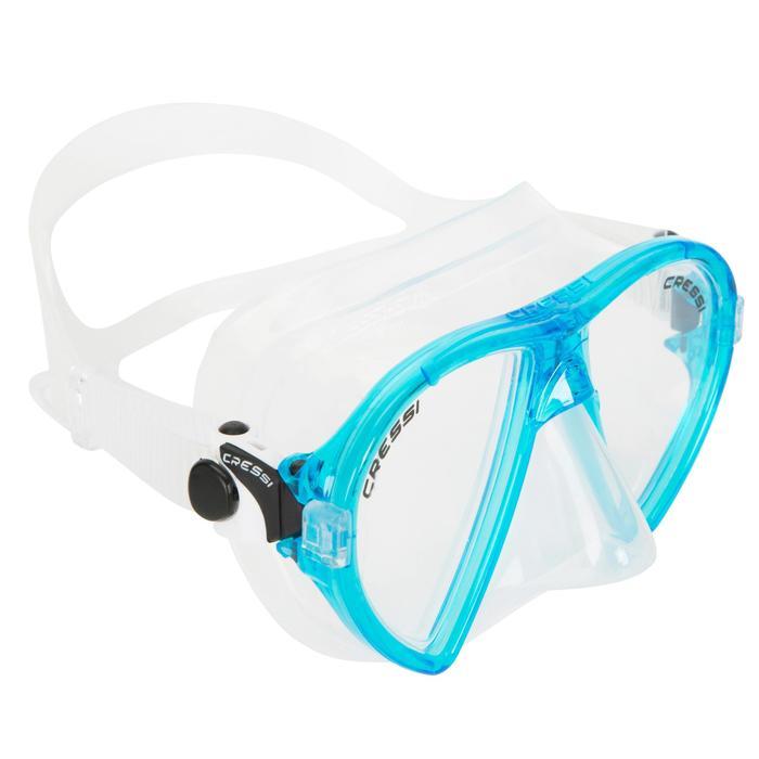 Masque de plongée Ocean turquoise - 412964