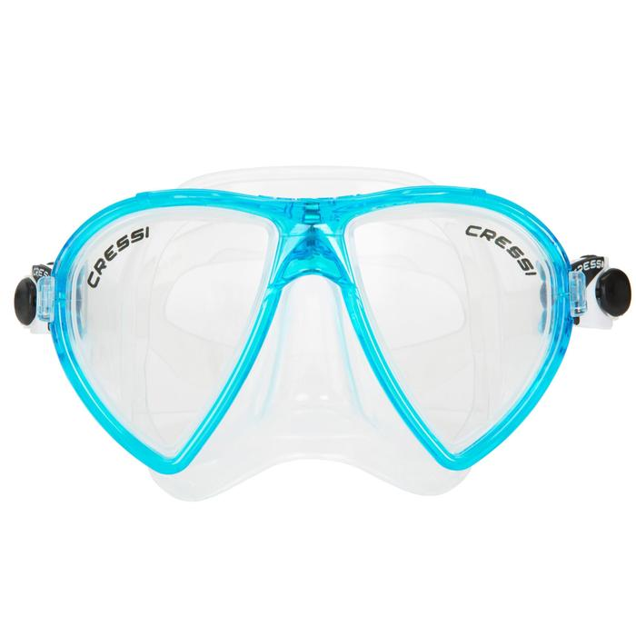 Masque de plongée Ocean turquoise - 412965