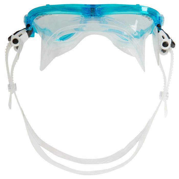 Masque de plongée Ocean turquoise - 412966