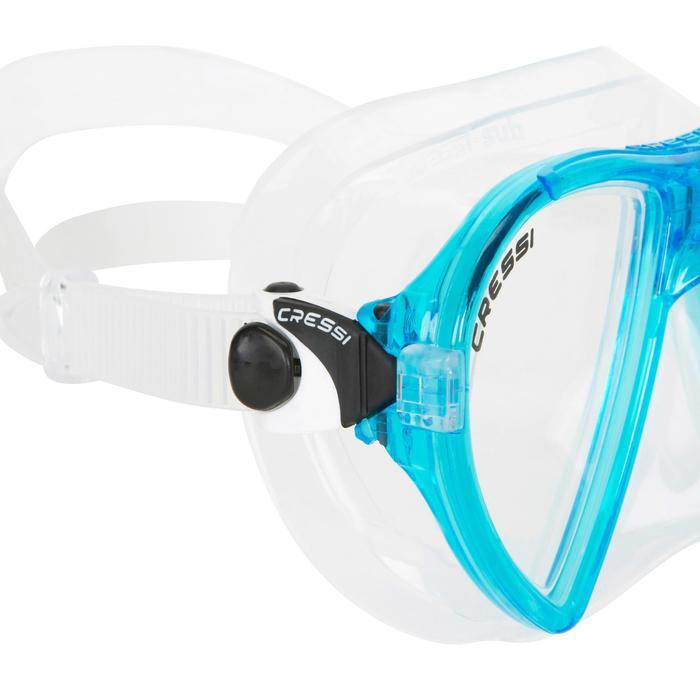 Masque de plongée Ocean turquoise - 412967