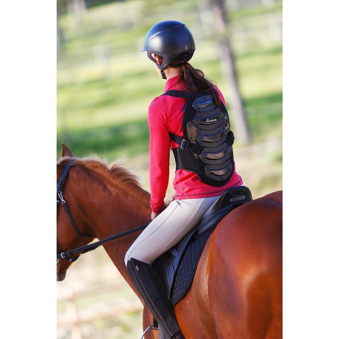 Protection dorsale équitation enfant et adulte SAFETY noir - 412992