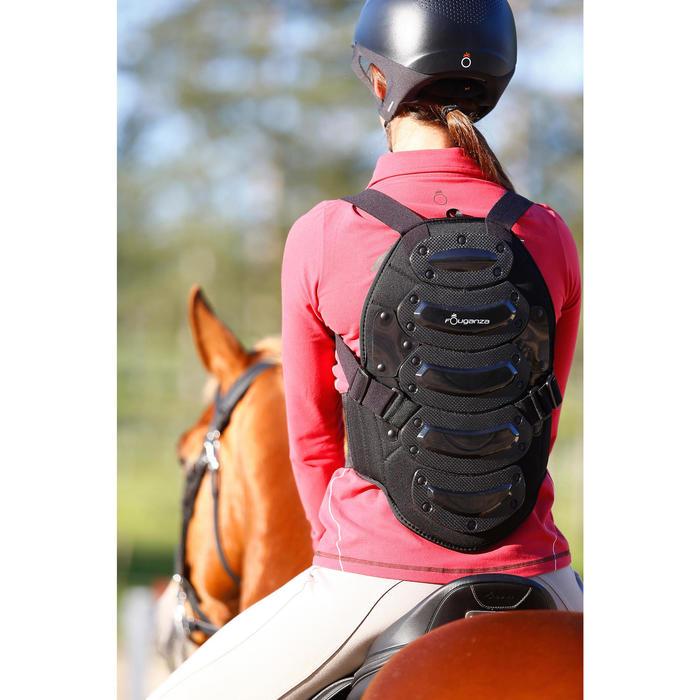 Rückenprotektor Safety Kinder/Damen/Herren schwarz
