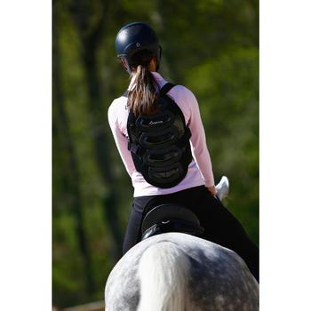 Protection dorsale équitation enfant et adulte SAFETY noir - 412999