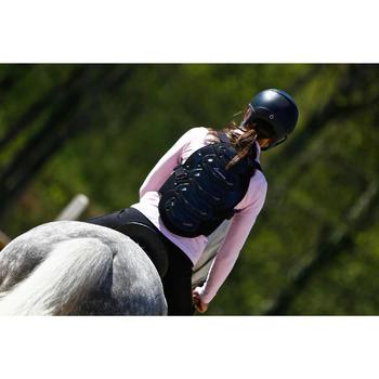 Protection dorsale équitation enfant et adulte SAFETY noir - 413000
