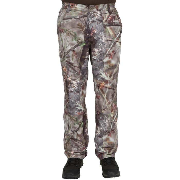 Pantalon chasse Posikam 100 camouflage marron - 41301