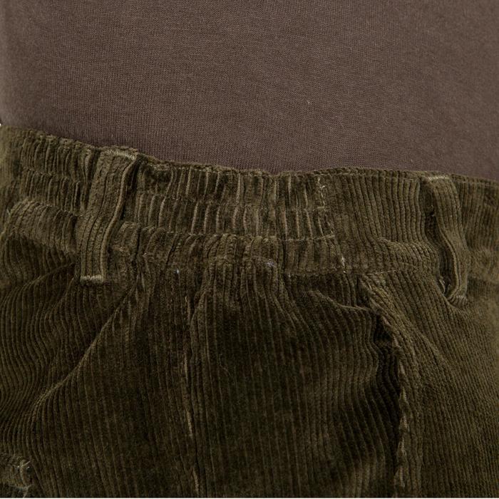 Pantalon chasse velours 300 vert - 41303